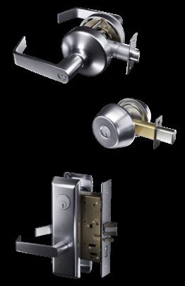 hardware mortise leverset and deadbbolt